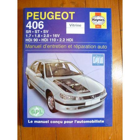 406 Revue Technique Haynes Peugeot
