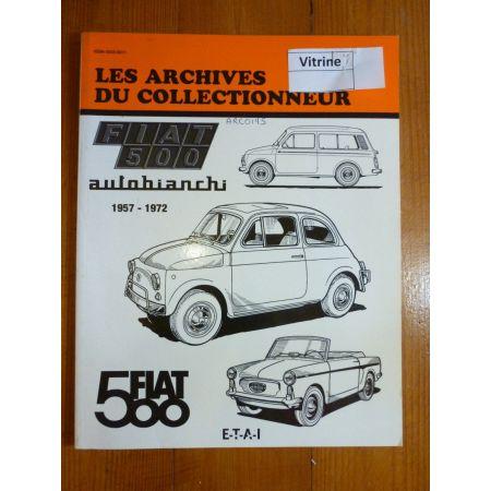 500 Revue Technique Les Archives Du Collectionneur Fiat