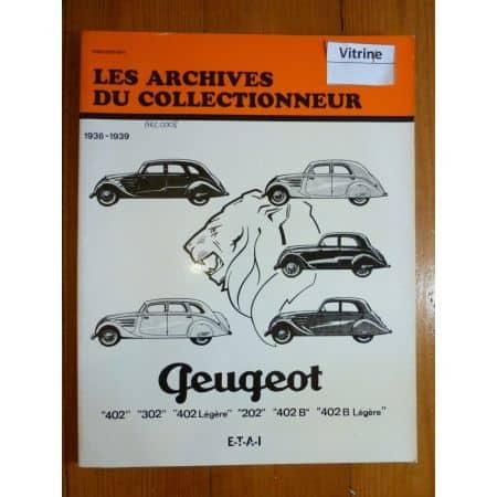 202 402 36-39 Revue Technique Les Archives Du Collectionneur Peugeot