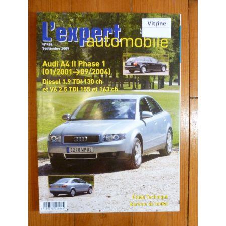 A4 II 01-04 Revue Technique Audi