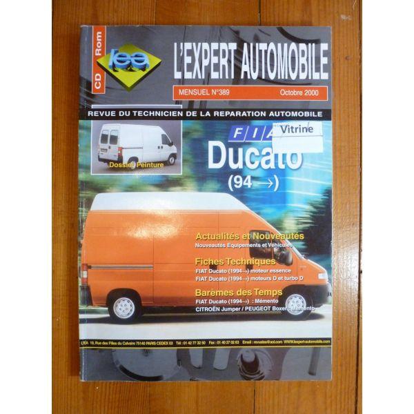 rta revue technique utilitaire fiat ducato depuis 1994. Black Bedroom Furniture Sets. Home Design Ideas