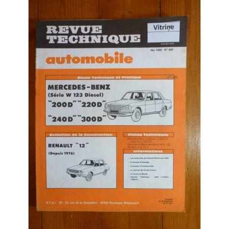 200D 220D 240D 300D Revue Technique Mercedes
