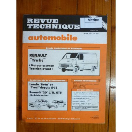 TRAFIC Ess Revue Technique Renault