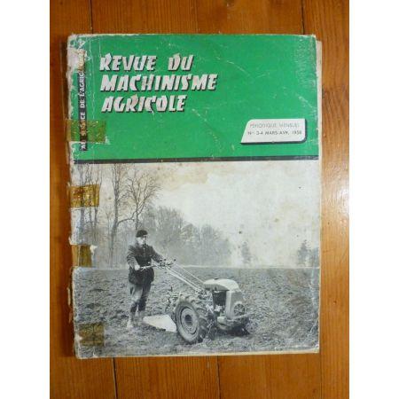 Tracteurs Ferguson - Revue Machinismr Agricole
