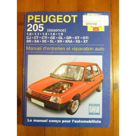 205 Ess Revue Technique Haynes Peugeot FR