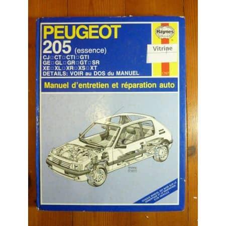 205 Ess 83-93 Revue Technique Haynes Peugeot FR