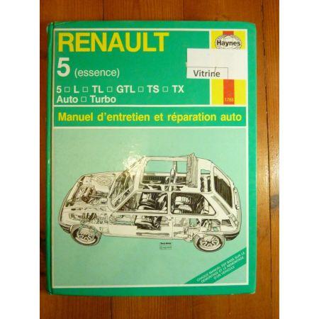 R5 ess. 72-85 Revue Technique Haynes Renault FR