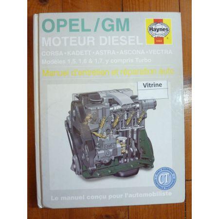 Moteur Diesel Revue Technique Haynes Opel FR