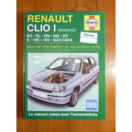Clio I Ess. 90-98 Revue Technique Haynes Renault FR