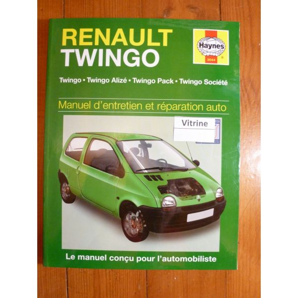 revue technique renault twingo de 1992 a 1998 1148cc et 1239cc aliz pack soci t. Black Bedroom Furniture Sets. Home Design Ideas