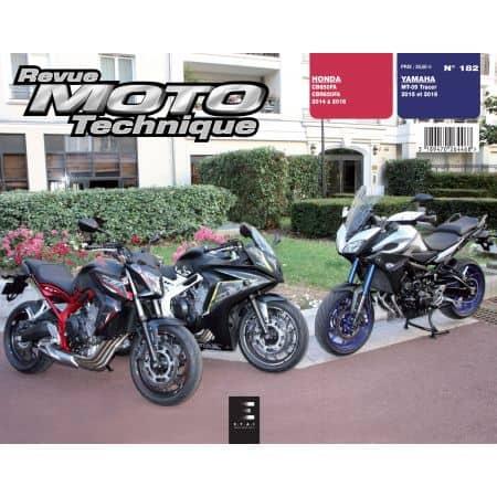 CB650F Tracer Revue Technique Moto Honda Yamaha