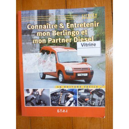 Berlingo-Partner Revue Connaitre entretenir Peugeot-Citroën