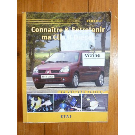 Clio II D Revue Connaitre entretenir Renault