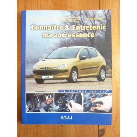 206 Ess. Revue Connaitre entretenir Peugeot