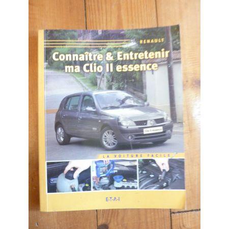 Clio II Ess. Revue Connaitre entretenir Renault