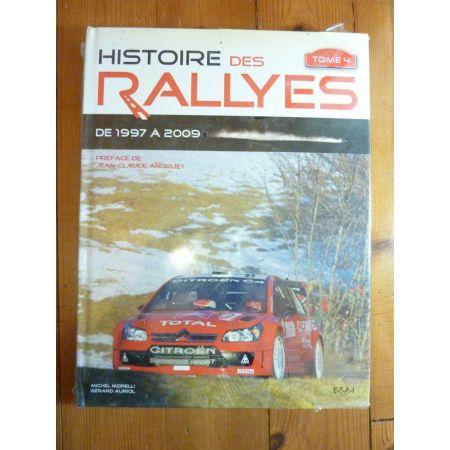 Rallyes de 1997 à 2009