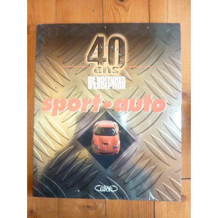 40 ans voitures d'exception