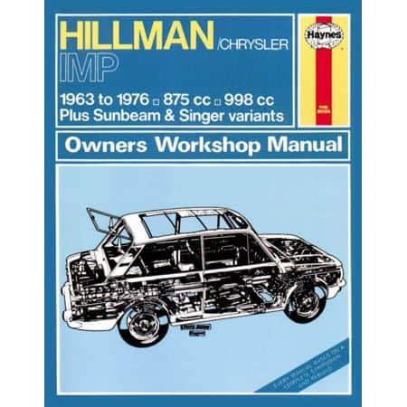Imp Petrol 63-76 Revue technique Haynes HILLMAN Anglais