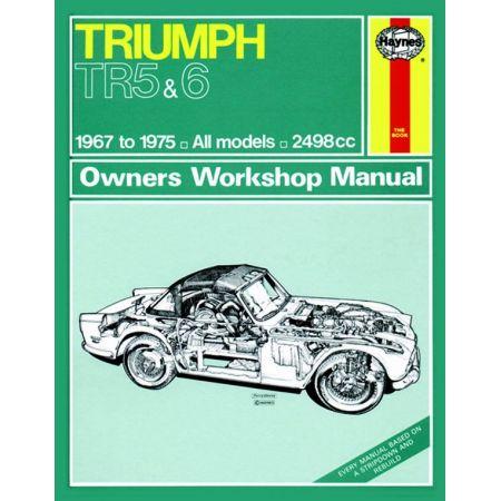TR5 TR6 classic 67-75 Revue technique Haynes TRIUMPH Anglais