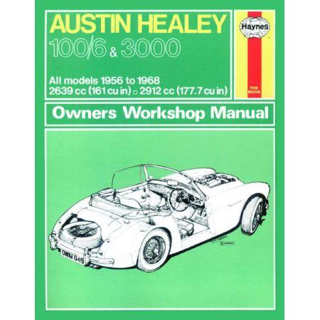 Healey 100 6 3000 56-68 Revue technique Haynes AUSTIN Anglais
