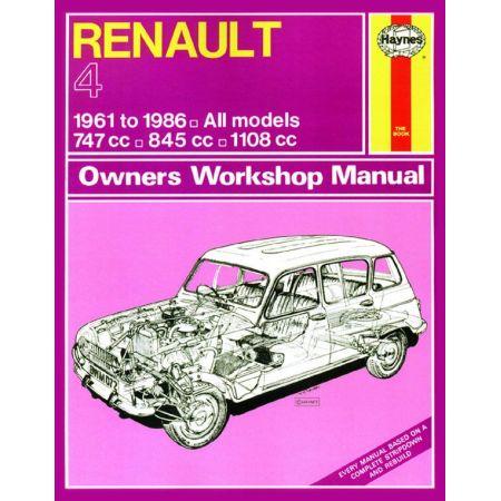R4 up to D classic 61-86 Revue technique Haynes RENAULT Anglais