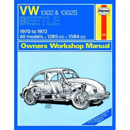 1302 1302S 70-72 Revue technique Haynes VW Anglais