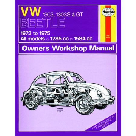 Beetle 1303 1303S GT 72-75 Revue technique Haynes VW Anglais