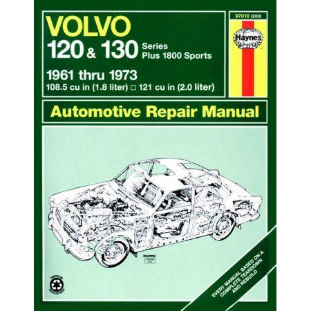 120 130 Series classic 61-73 Revue technique Haynes VOLVO Anglais