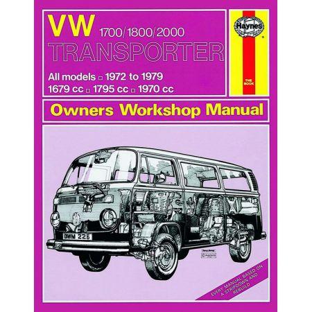 Transporter 1700 1800 72-79 Revue technique Haynes VW Anglais