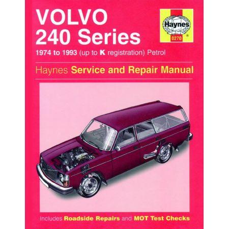 240 Series Petrol up to K 74-93 Revue technique Haynes VOLVO Anglais