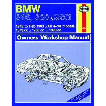 316 320 320i 75-83 Revue technique Haynes BMW Anglais