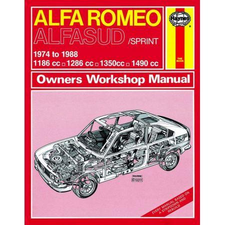Alfasud Sprint 74-88 Revue technique Haynes ALFA-ROMEO Anglais