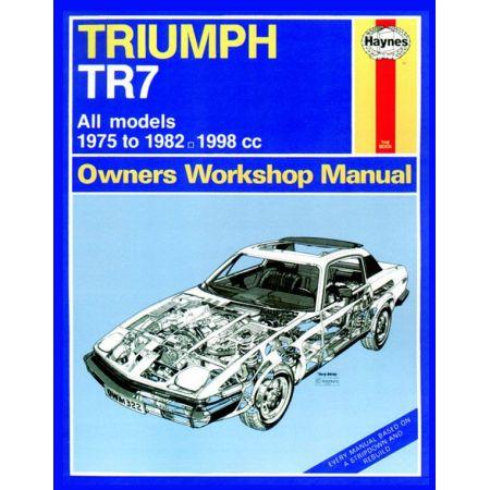 TR7 classic 75-82 Revue technique Haynes TRIUMPH Anglais