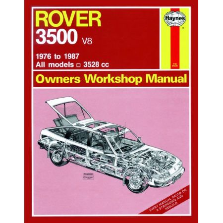 3500 classic 76-87 Revue technique Haynes ROVER Anglais
