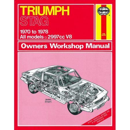 Stag classic 70-78 Revue technique Haynes TRIUMPH Anglais