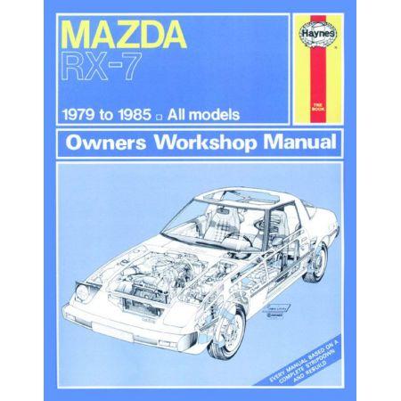 RX-7 Petrol classic 79-85 Revue technique Haynes MAZDA Anglais