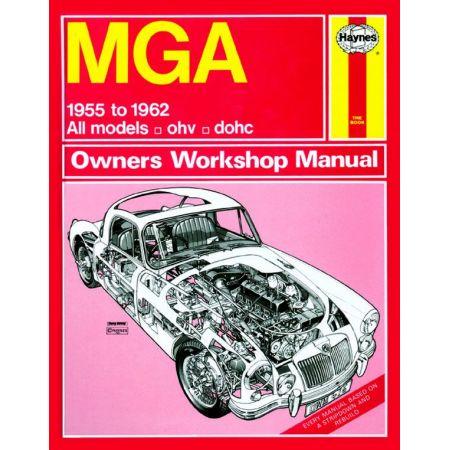 MGA classic 55-62 Revue technique Haynes MG Anglais