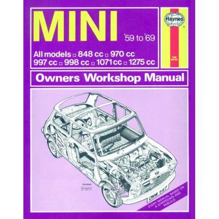 Mini up to H classic 59-69 Revue technique Haynes MINI Anglais