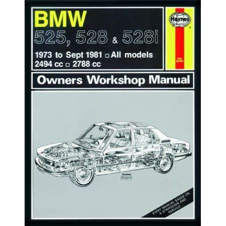525 528 528i 73-81 Revue technique Haynes BMW Anglais