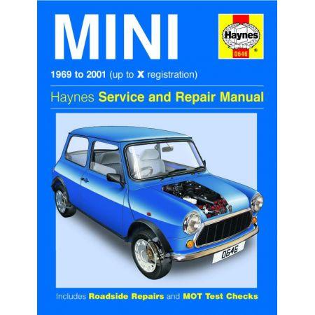 Mini up to X 69-01 Revue technique Haynes MINI Anglais