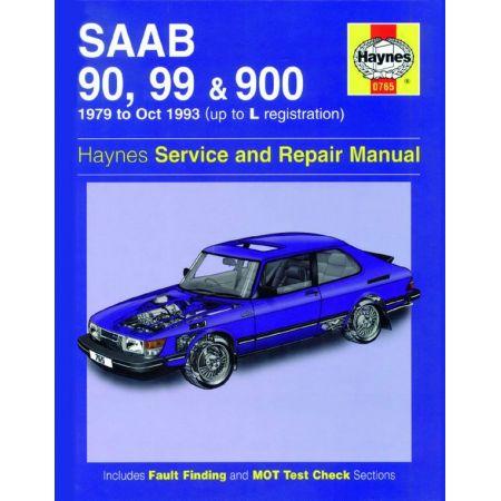 90 99 900 Petrol up to L 79-93 Revue technique Haynes SAAB Anglais
