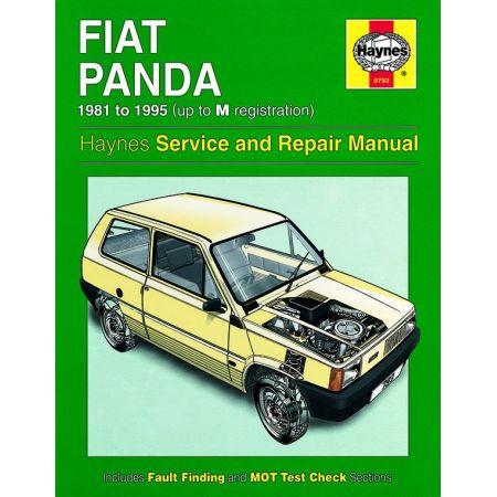 Panda classic 81-95 Revue technique Haynes FIAT Anglais