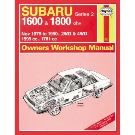 1600 1800 classic 79-90 Revue technique Haynes SUBARU Anglais