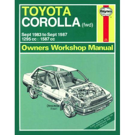 Corolla 83-87 Revue technique Haynes TOYOTA Anglais