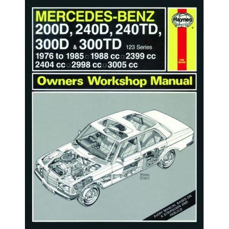 200D A 300TD 79-85 Revue technique MERCEDES Haynes Anglais
