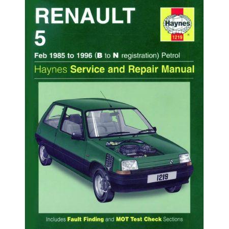 R5 Petrol B to N classic 85-96 Revue technique Haynes RENAULT Anglais