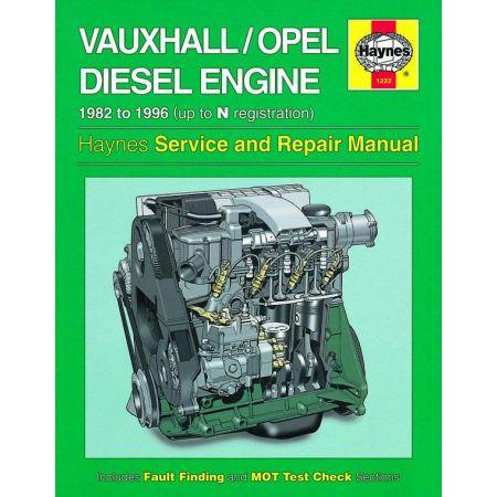 1.5 1.6 1.7 litre Diesel 82-96 Revue technique OPEL Haynes Anglais