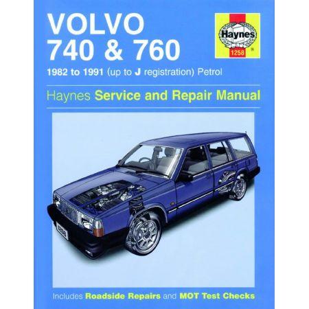 740 760 Petrol 82-91 Revue technique VOLVO Haynes Anglais
