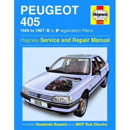 405 Petrol E to P 88-97 Revue technique Haynes PEUGEOT Anglais