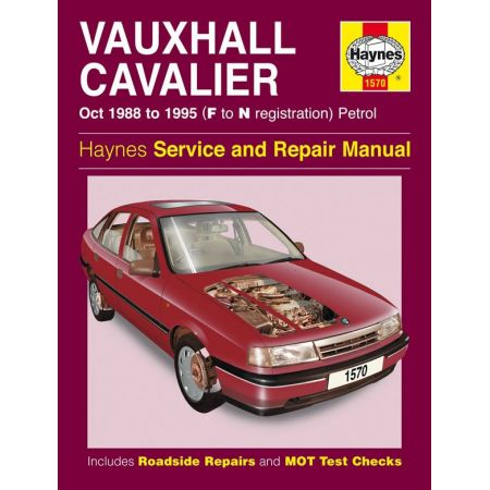 Cavalier Petrol F to N 10/88-95 Revue technique Haynes VAUXHALL Anglais